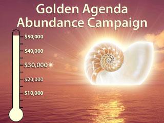 Golden Agenda Abundance Campaign