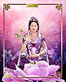 Kuan Yin Lotus 5x7