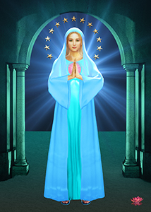 Mother Mary Stars 8x10 Print