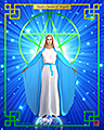 Mary Queen of Angels 8 x 10
